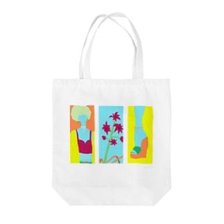 F U U R Oの【SUMMER ORANGE】 Tote bags