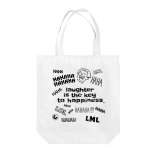 chiaki☺︎の笑い袋 Tote bags