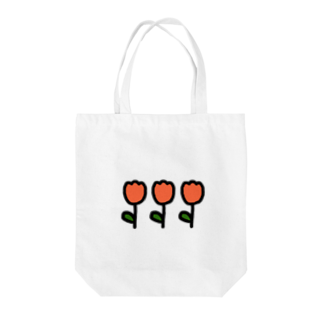 ね むのオレンジチューリップ Tote bags