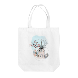 M.MiraのLes voyages. Tote bags