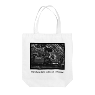 The future starts today, not tomorrow.  Tote bags