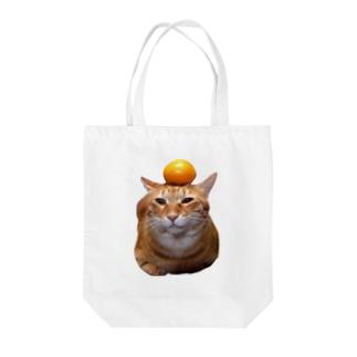 カッコイイ、家の男前にゃんこ Tote bags