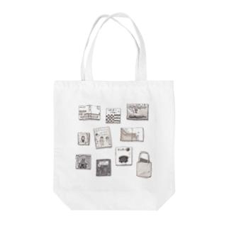 架空の本 Tote bags