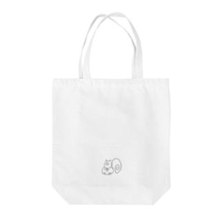 イケイケのリス Tote bags