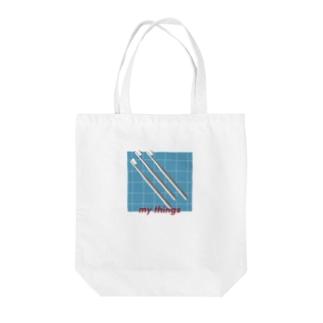 my things 001 Tote bags