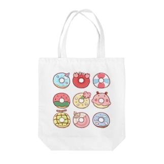 夏のドーナツ Tote bags