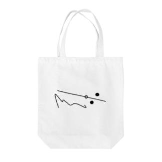 点と線 Tote bags