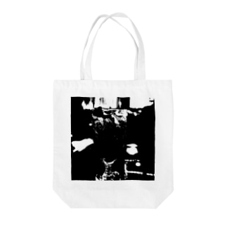 ブラック・コーク Tote bags