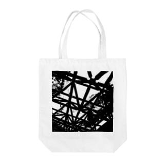CLOUDY SKY Tote bags