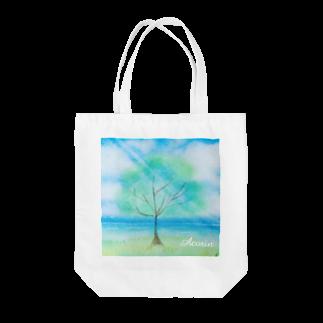 あこりん(๑^︶^๑)・.。:*・♬*のガジュマルの木 Tote bags