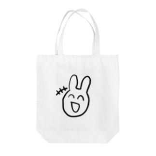 嘘笑い作り笑い愛想笑い Tote bags