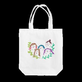 KAKINOTANEの女子会 Tote bags