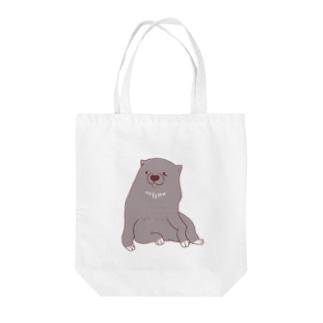 あの犬/BOSS Tote bags