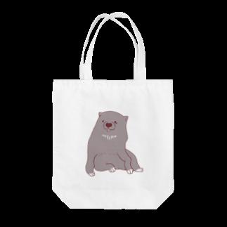 mugioのあの犬/BOSS Tote bags