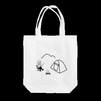 achi no design shop のcamp Tote bags