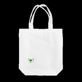 mugioのあの犬/フェイス leaf Tote bags