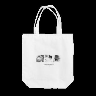 Ohaka。のcatcatcat‼︎‼︎ Tote bags