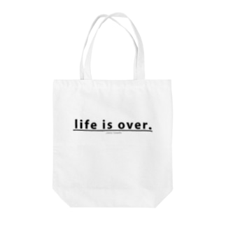 life is over. ~ 人生詰んだ。 Tote bags