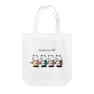NAN&COOのパンダッションズ Tote bags
