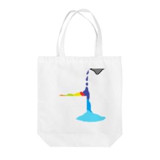 ドット絵 Tote bags