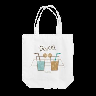 Xiaolin ClubのDeuce! Tote bags