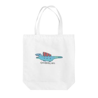 がんばれナイナソー Tote bags