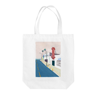 Nao TatsumiのSan Jose, California Tote bags