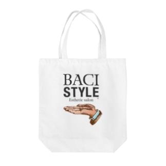 BACI_HAND Tote bags