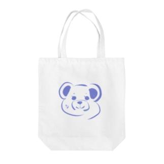 いきてるくま🐻 Tote bags