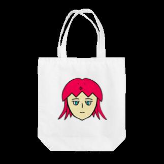 ヒロさんのグッズのタコちゃん Tote bags