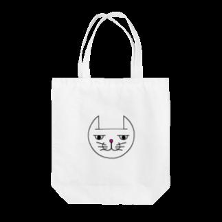 ヒロさんのグッズのネコだお(カラー) Tote bags