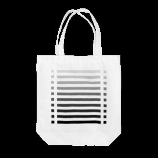 cooLunaのcolor bar - monochrome - Tote bags