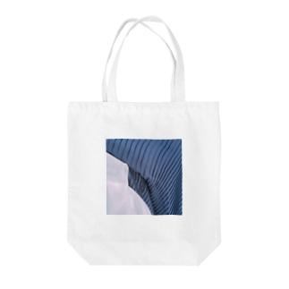 プリーツスカート Tote bags
