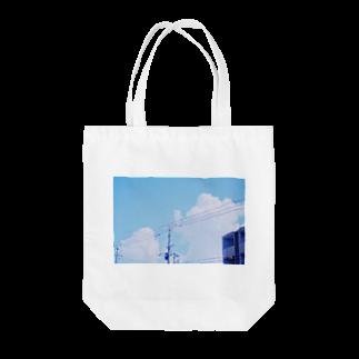 Yuruの空 Tote bags