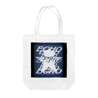 Logic RockStar  illustration Official StoreのECHO  Tote bags