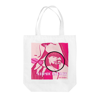 Logic RockStar  illustration Official StoreのATOMIC ENERGY  Tote bags
