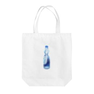 ラムネ Tote bags
