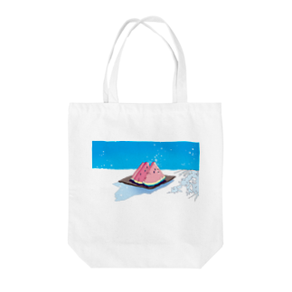 Saigetsuのあの夏、きみと宝石をたべた Tote bags