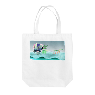 hyacoの歩きだしたanemone Tote bags