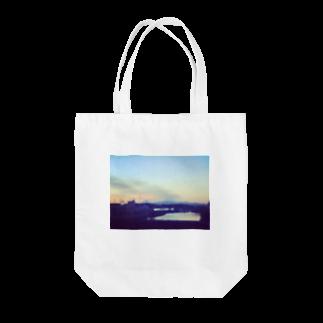 めむとの帰路、滲む景色。 Tote bags
