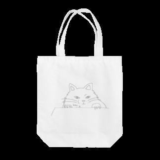 石川 佳宗の覗き見猫 Tote bags