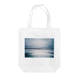 北海道の冬 Tote bags