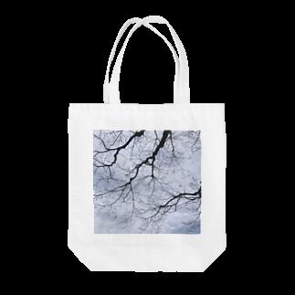 采-aya-の道中、冬 Tote bags
