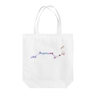 リボン七星 Tote bags