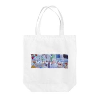 healthy glow Tote bags
