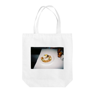 ロコモコ Tote bags
