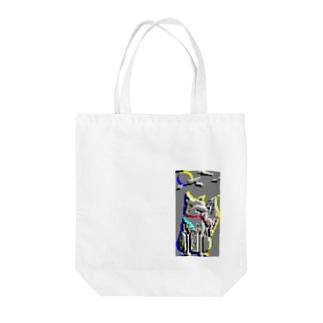 妖狐の夜 Tote bags