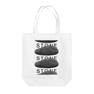 STONE PATTERN Tote bags