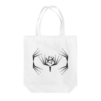 彼岸花~Geometric Botany Tote bags