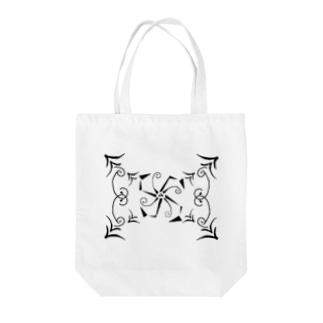 ネリネ~Geometric Botany Tote bags